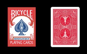 Bicycle 809 Mandolin Back Cards